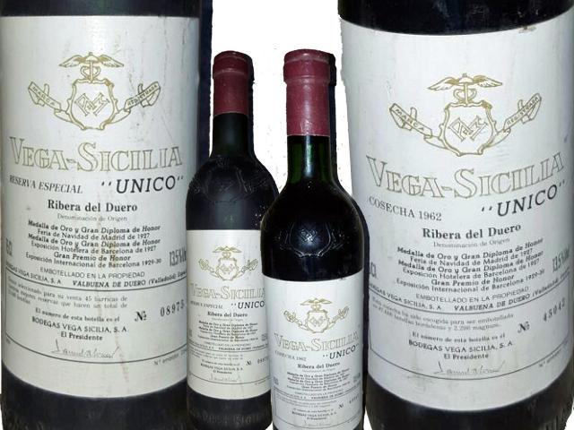 Para coleccionistas de Vega Sicilia