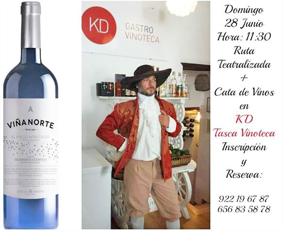 Ruta Teatralizada y cata de vinos de Bodegas Insulares Tenerife