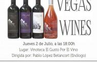 Cata de Vegas Wine en la vinoteca