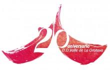 Diseño ganador del logotipo del 20 Aniversario de la D.O. Valle de La Orotava