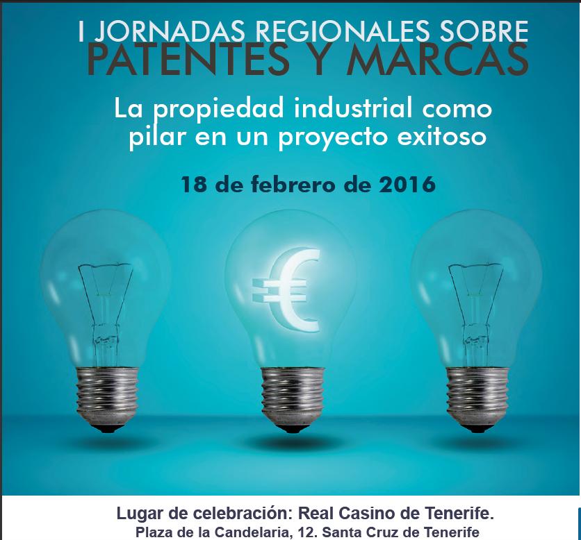 I Jornada Regional sobre patentes y marcas