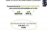 Charla de Fitovacuna Vegetal en la Casa Museo del Vino Las Manchas. La Palma