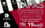 Vinos & Tapas. Cata maridaje en la vinoteca La Reserva. La Laguna. Tenerife