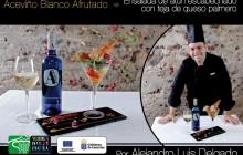 Maridaje: Aceviño Blanco Afrutado vs Ensalada de atún escabechado con teja de queso palmero