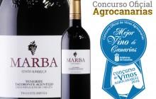 Marba Tinto Barrica. El mejor vino de Canarias. Concurso Oficial de Vinos Agrocanarias 2016