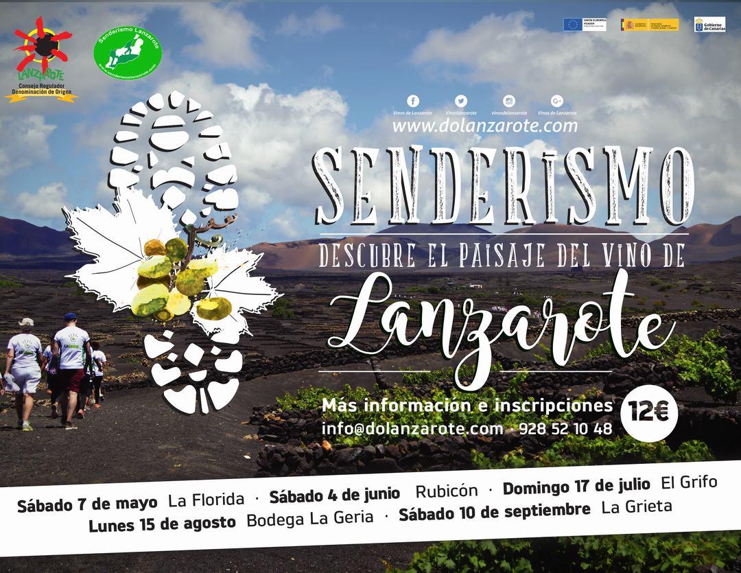 Senderismo para descubrir el paisaje del vino de Lanzarote