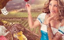 La campaña de promoción de los vinos de la Denominación  de Origen Islas Canarias brilla con luz propia