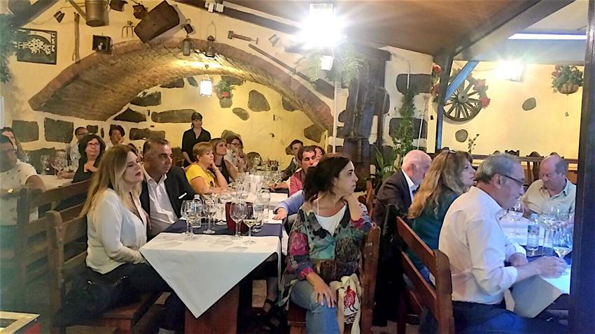 Buena afluencia a la cata de vinos de Lanzarote en Tenerife