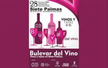 Degustación de vinos de la D.O. Gran Canaria y tapas típicas, en Siete Palmas