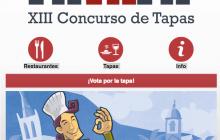 """""""PAtaPA 2016"""". XIII CONCURSO DE TAPAS DE LOS REALEJOS, desde el 11 al 27 de noviembre de 2016"""
