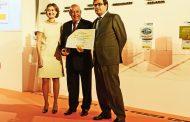 """Entrega del  Premio """"Alimentos de España Mejor Vino 2016"""" a Bodegas El Penitente"""