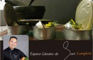 La receta de Santi Evangelista: Sardinitas marinadas con Gorgonzola y remolacha con aliños de mostaza