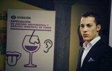 El sumiller Guillermo Cruz en la Universidad de La Laguna