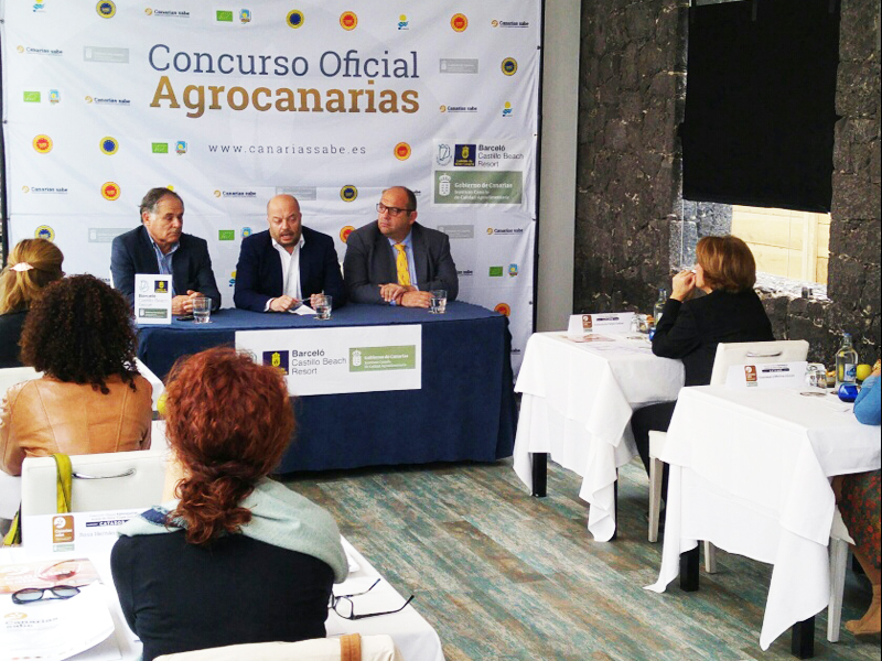 Cata final para decidir cual es el Mejor Aceite de Oliva Virgen Extra de Canarias Agrocanarias 2017
