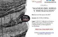 Manejo del suelo y fertilización. Charla de la D.O. Valle de La Orotava, el 9 de marzo de 2017