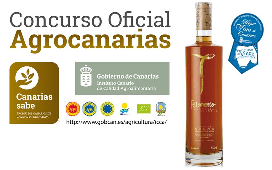 Testamento Malvasía Esencia Mejor Vino de Canarias