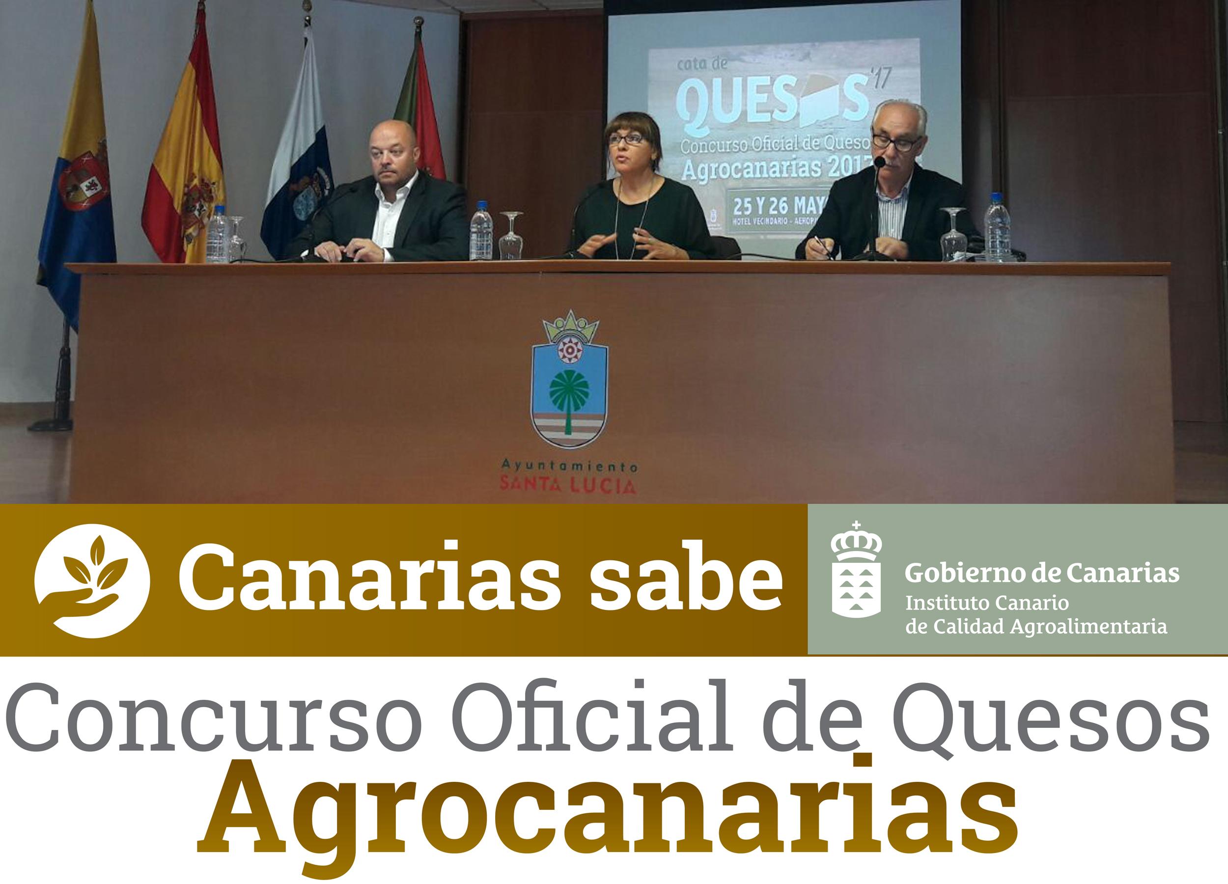 Concurso Oficial de Quesos Agrocanarias