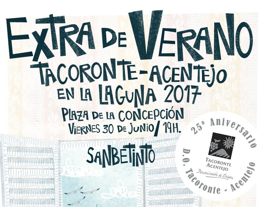 Programa Extra de Verano 2017 de la D.O. Tacoronte Acentejo.
