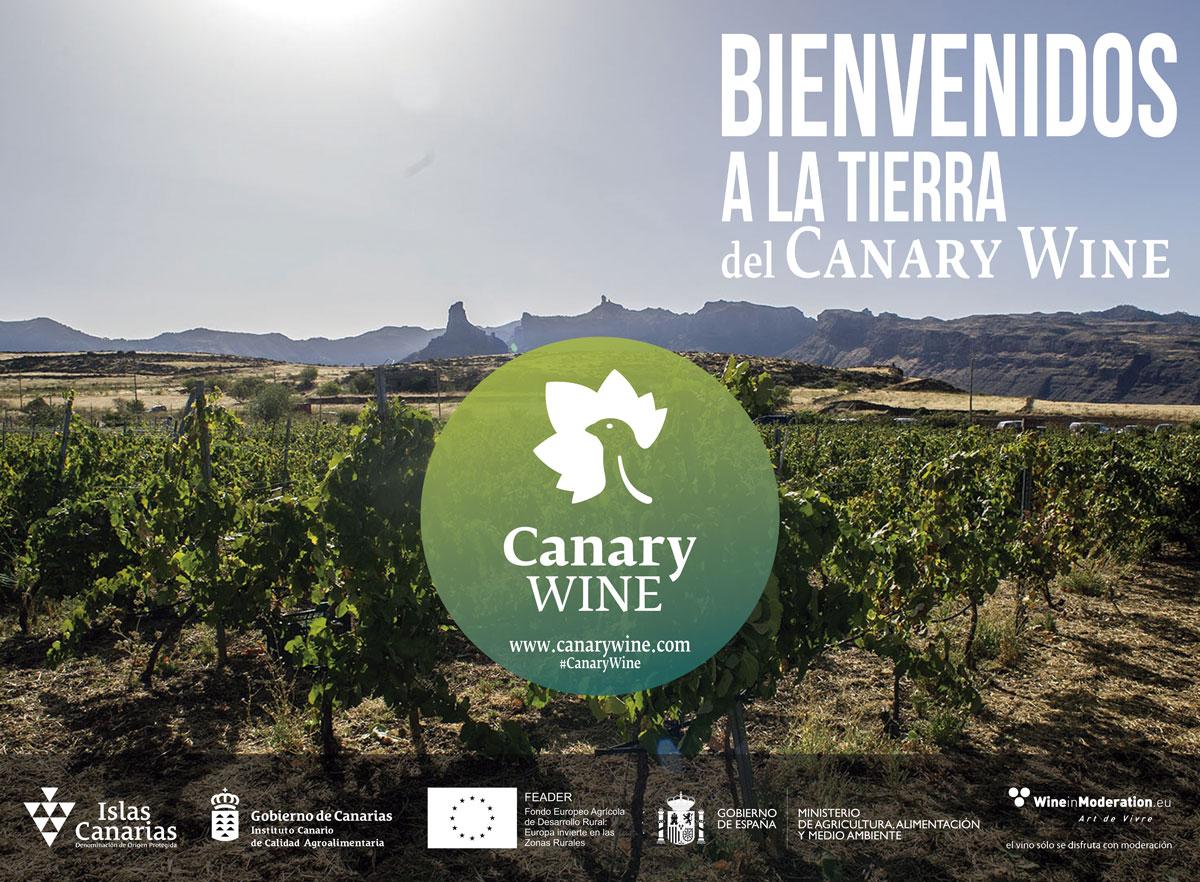 Bienvenidos a la tierra del Canary Wine