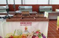 Información detallada en las balanzas del Mercado del Agricultor de Arona