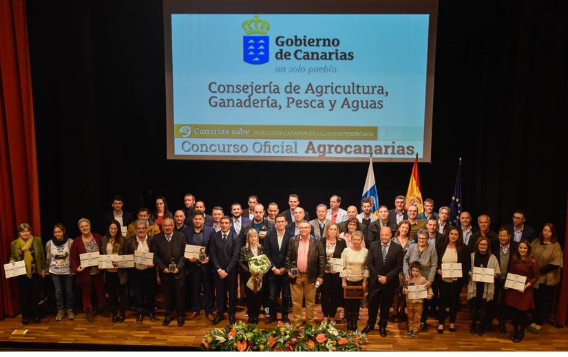 Entrega de los Premios Agrocanarias 2017