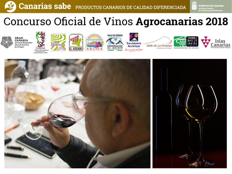 Comienza el Concurso Oficial de Vinos Agrocanarias 2018