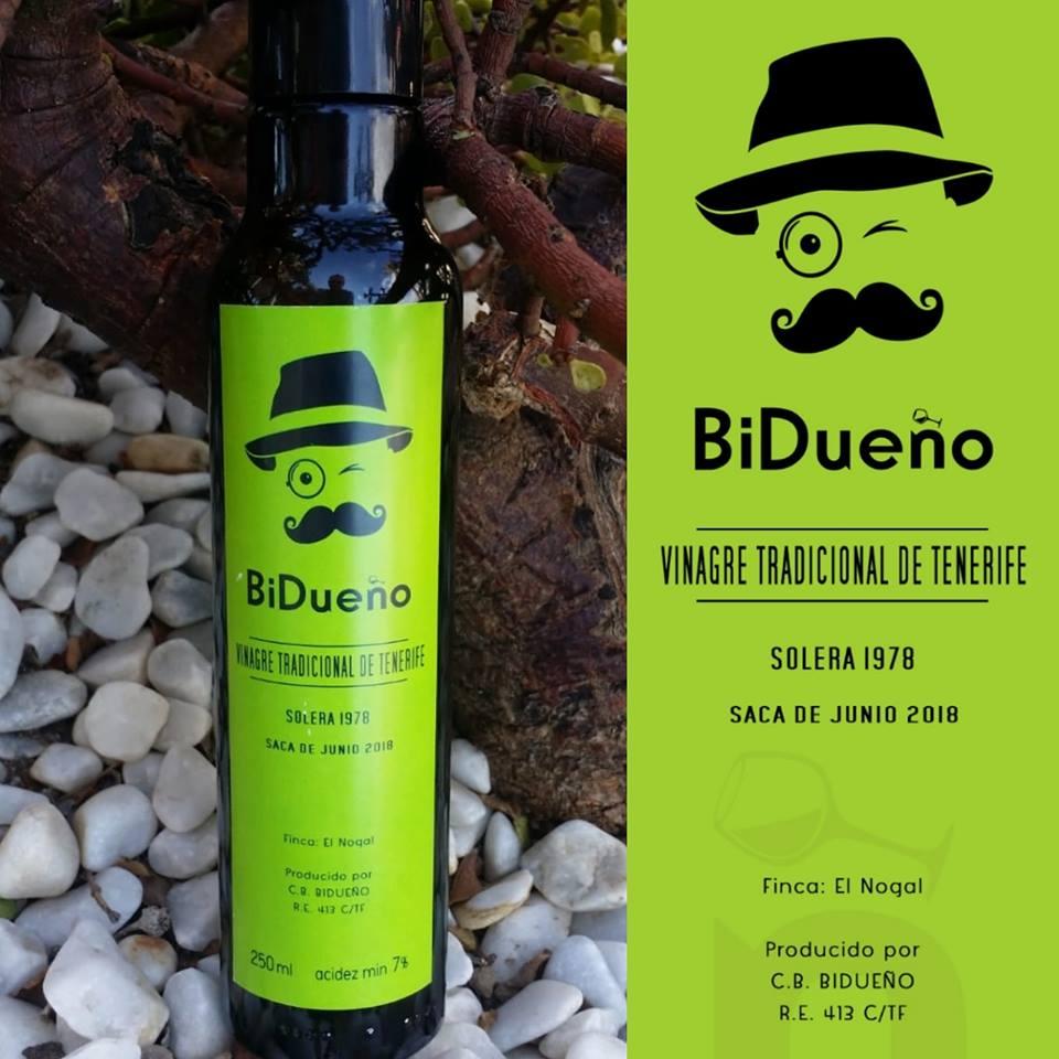 BiDueño, nuevo vinagre tradicional de Tenerife