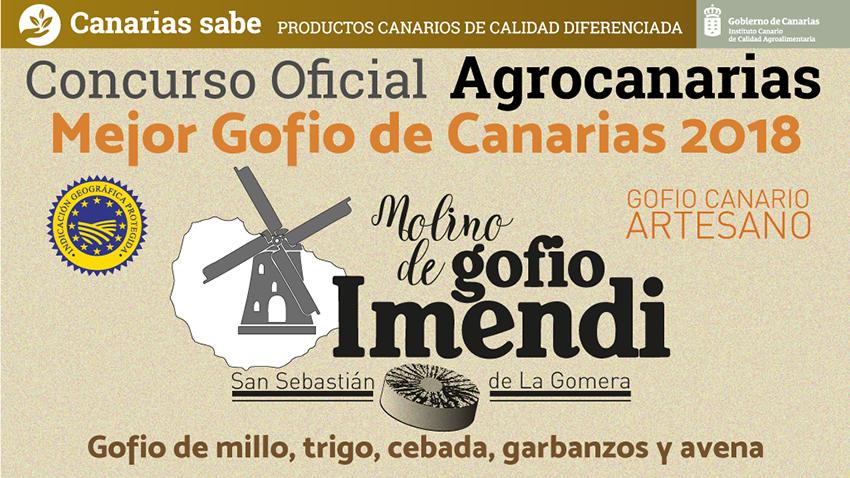 El Mejor Gofio de Canarias 2018 lo elabora Cristina Mª Mendoza bajo su marca