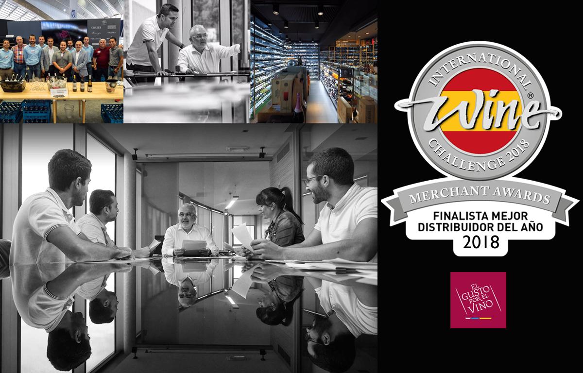 El Gusto por el Vino, finalista nuevamente en los international Wine Challenge Merchant Awards Spain 2018, pendientes del veredicto final en octubre