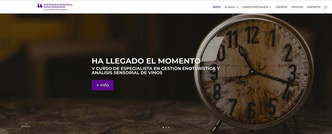Curso de Especialista en Gestión Enoturística y Análisis Sensorial de Vinos de la Universidad de La Laguna para 2019