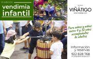 Vuelve la tradicional Vendimia Infantil a Viñatigo