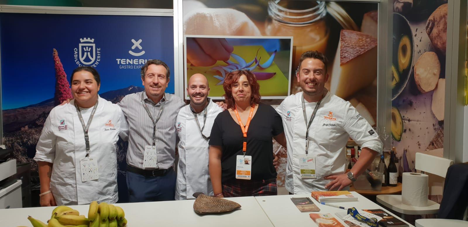 Tenerife fascina con sus chefs y  productos en San Sebastián Gastronomika