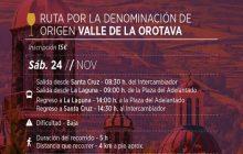 """Ruta guiada por la """"Denominación de Origen Valle de la Orotava"""""""