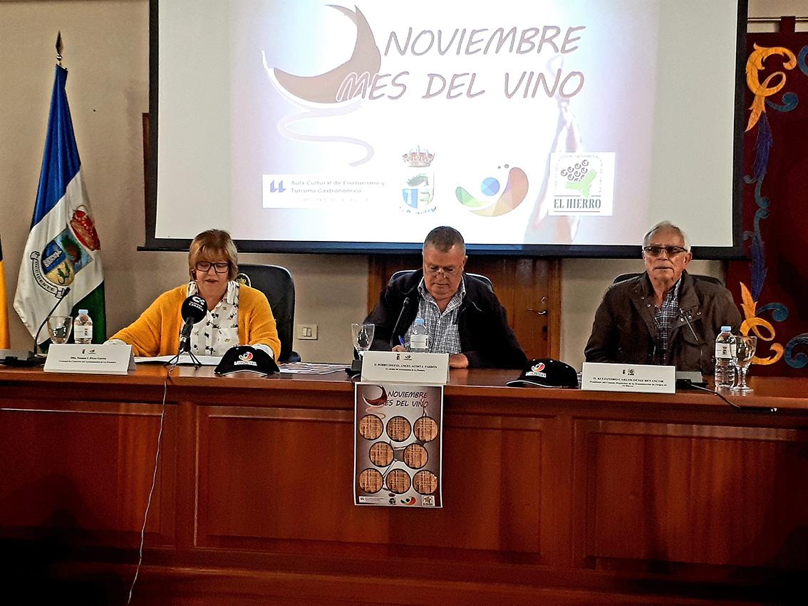 """La Frontera (El Hierro) celebra """"Noviembre, el mes del Vino"""""""