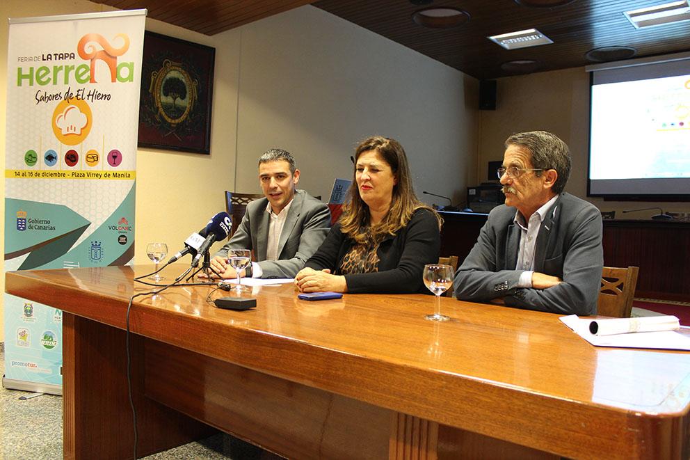 """La isla del Meridiano celebra este fin de semana """"la Feria de la Tapa Herreña, Sabores de El Hierro"""""""