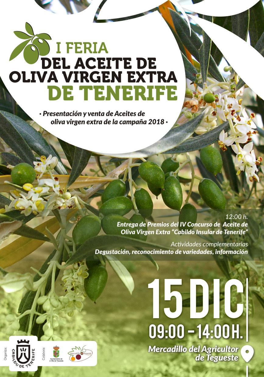 I Feria del Aceite de Oliva Virgen Extra de Tenerife