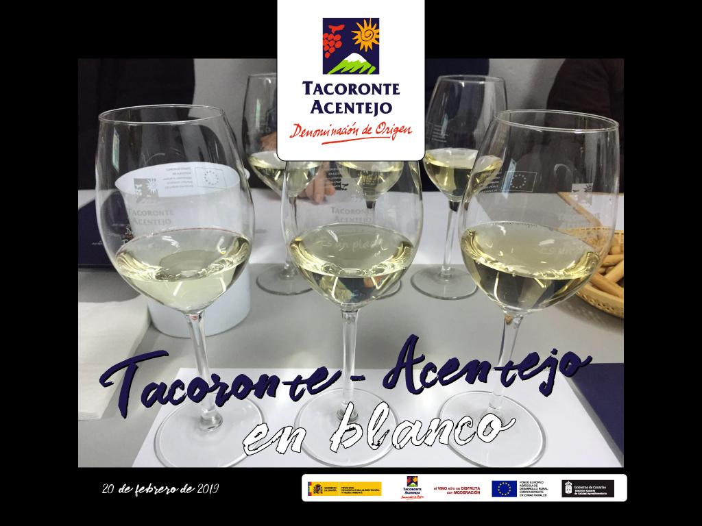 AULA DE FORMACIÓN 2019: TACORONTE-ACENTEJO EN BLANCO