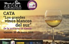 Los Grandes Vinos Blancos del Sur, cata degustación comentada, en El Corte Inglés de S/C de Tenerife