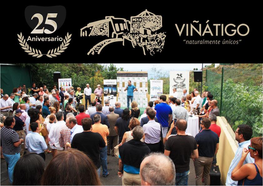 25 aniversario de Bodegas Viñátigo