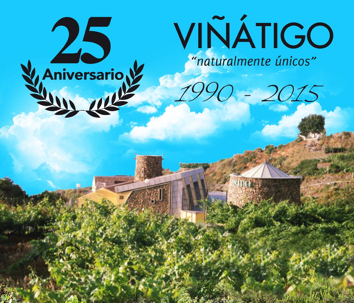 Bodegas Viñátigo cumple 25 años