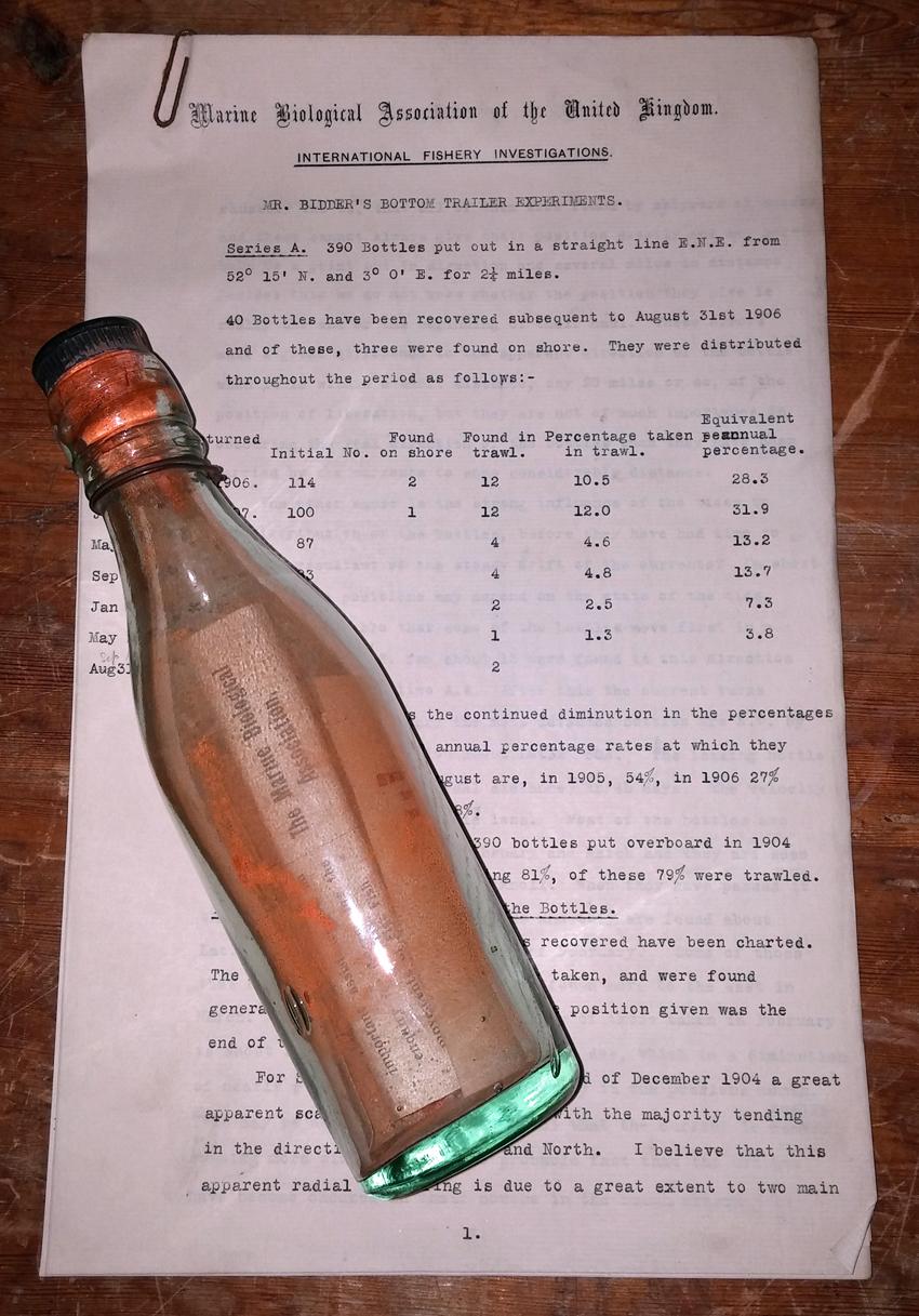 Mensaje en una botella...