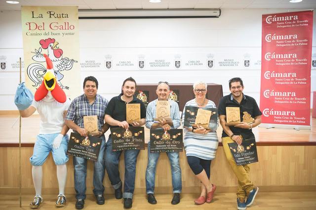 El Restaurante Las Norias gana el Primer Premio de la X Ruta del Gallo
