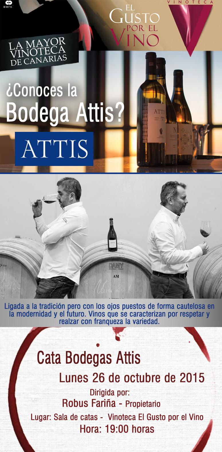 ATTIS, en la vinoteca El Gusto por el Vino