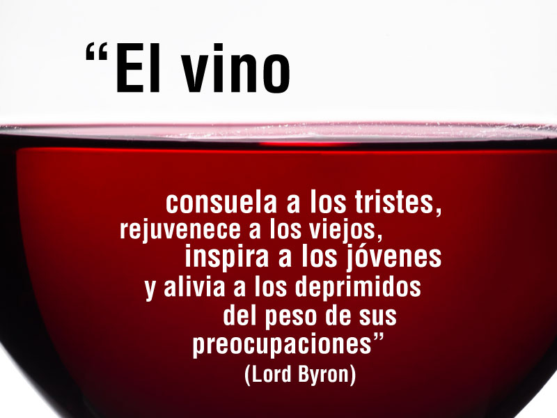 Frases del vino; Lord Byron