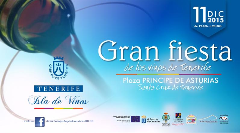 Gran fiesta de los Vinos de Tenerife. 11 de diciembre de 2015