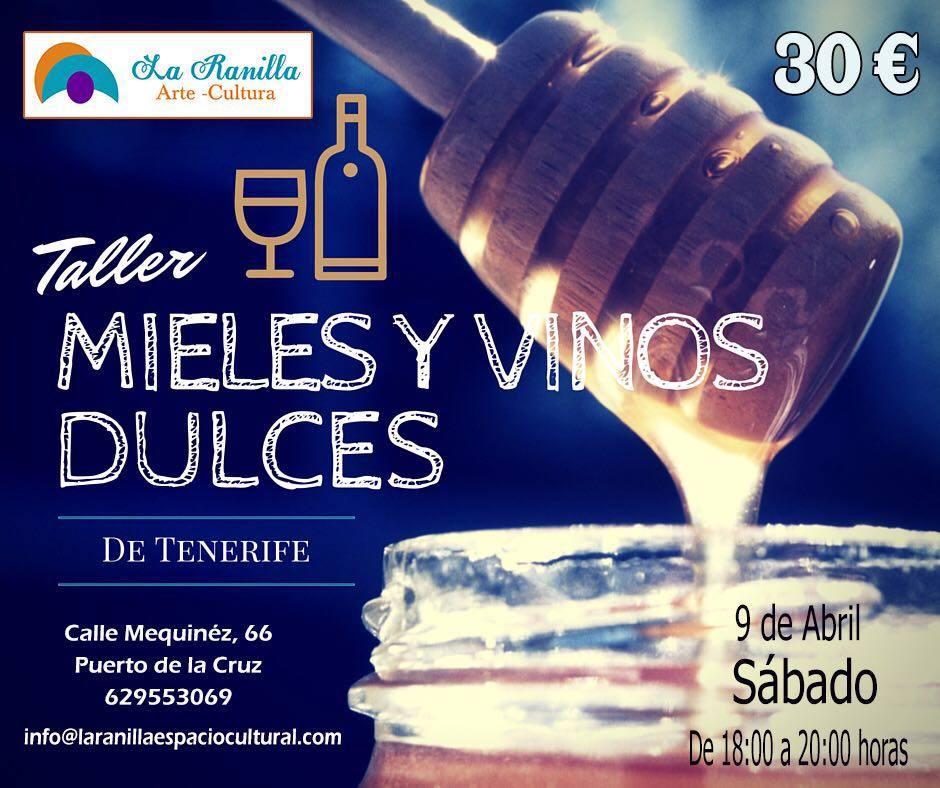Taller de mieles y vinos dulces de Tenerife
