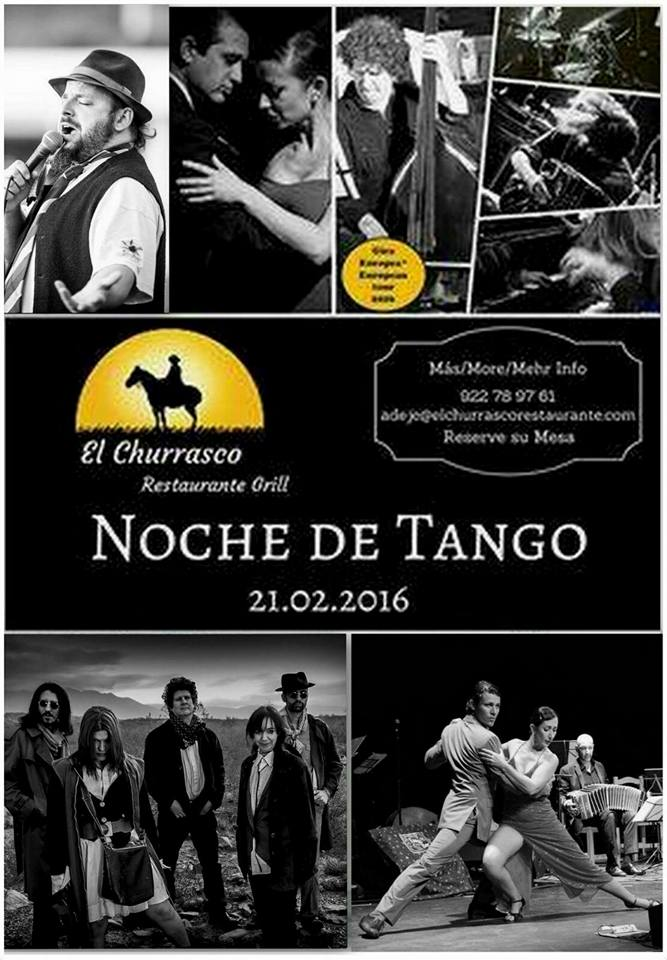 Noche de Tango en el Restaurante El Churrasco (Adeje. Tenerife)