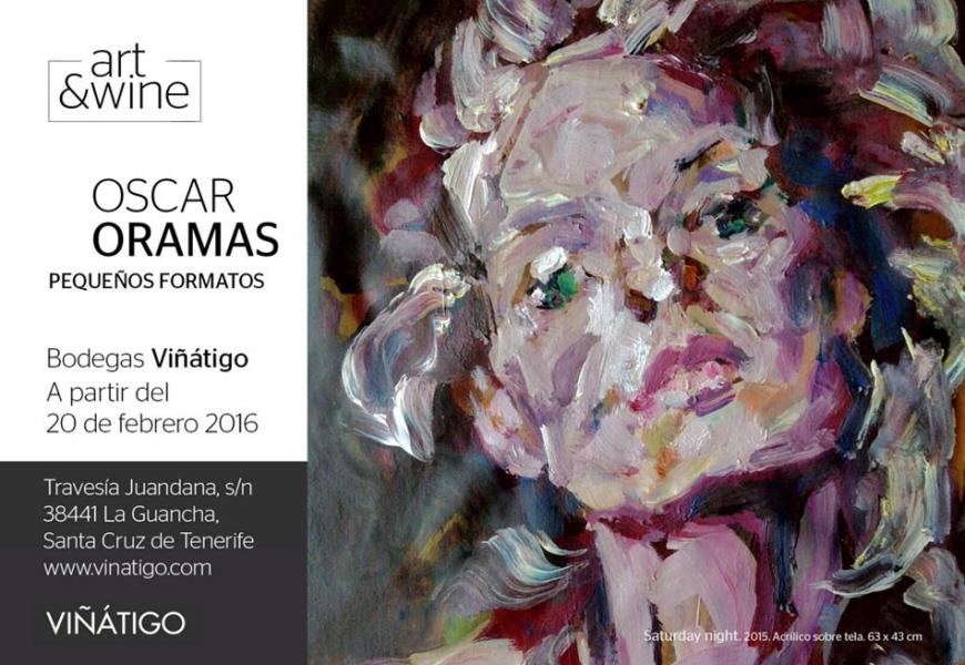 Exposición del pintor cubano Óscar Oramas en Bodegas Viñátigo.