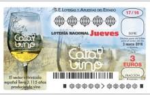 Homenaje al sector del vino de Loterías y Apuestas del Estado