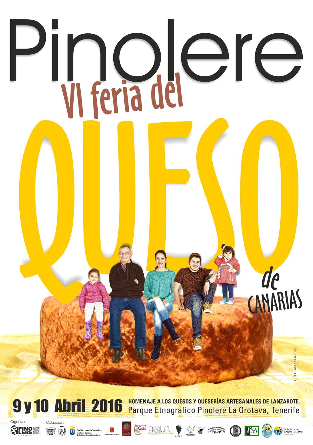 Los quesos de Lanzarote serán los protagonistas en la VI Feria del queso de Canarias Pinolere 2016